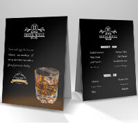 Tent Cards | Wholesale Safety Labels