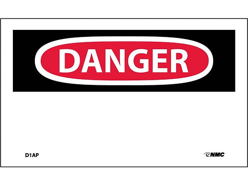 Danger (Write Your Own Message)