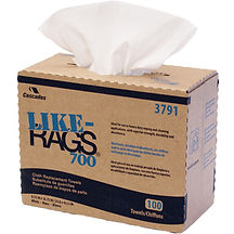 LIKE-RAGS® 700/800 Series by Cascades  | Wholesale Safety Labels