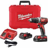 "Milwaukee 18 V M18 1/2"" Compact Drill/Drivers"