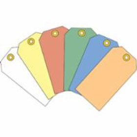 Tags - Standard Blank Colour - 8 Sizes 6 Colours