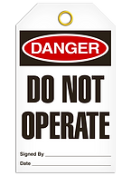 Danger Tags | Wholesale Safety Labels