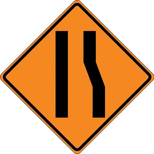 Roll Up Construction Signs - Diamond Grade, 4 Legends