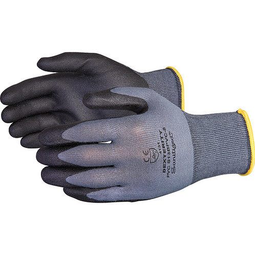 Superior Dexterity® PVC Palm Coated Gloves