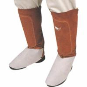 Lava Brown Leather Accessories- Spats and Aprons