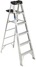 WERNER AluminumStepLadders | Wholesale Safety Labels