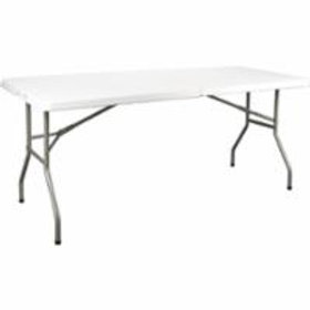 Kleton Polyethylene Fold-in-Half Table