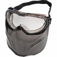 Goggles with Safety Shield