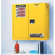Justrite Wall Mount Flammable Storage | Wholesale Safety Labels