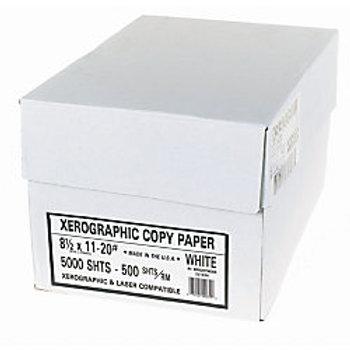 XEROGRAPHIC PAPER 40M 8.5X11 WHITE 5000/Box