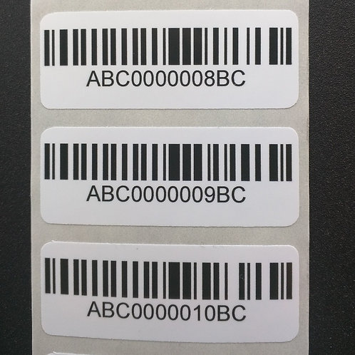 Custom Short Run Bar Code Labels | Ontario | Canada | Wholesale Safety Labels