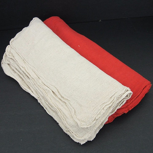 Cotton Shop Towels 25 lbs. Box or 100 lbs. Bale