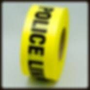 Police Line Barricade Tape | Wholesale Safety Labels