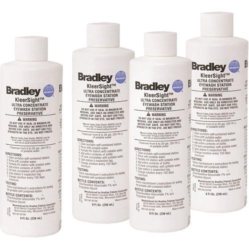 Bradley On-Site Eyewash  Water Preservative 8 oz