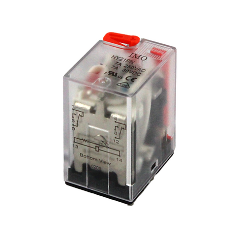 IMO Relay 2PCO, 7A, 240VAC, up to 1.8VA Plug-in,LE