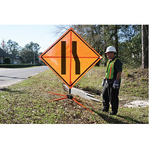 Traffic Control Sign Stands | Wholesale Safety Labels