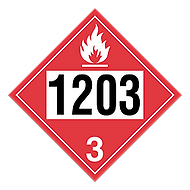 TDG Pre-Numbered Placards 1203 | Wholesale Safety Labels