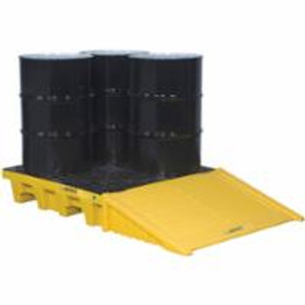 Justrite® EcoPolyBlend Spill Control Pallets