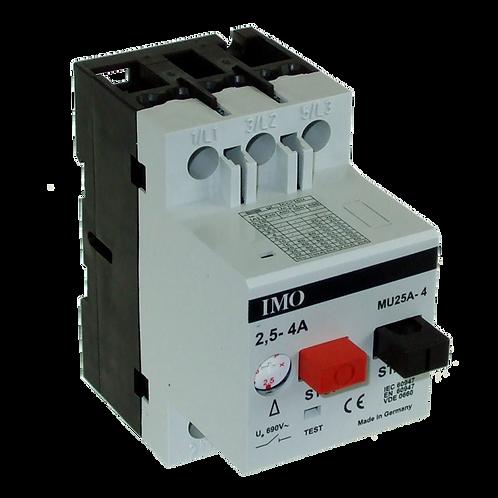 IMO Manual Motor Starter 2.5 To 4 Amps MU25A4.00