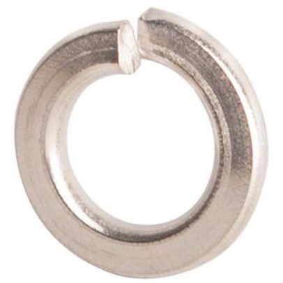 "1/4"" 18-8 Stainless Steel Medium Split Lock Washer 100/Box"