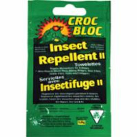 Croc Bloc6-hr Insect Repellent Towelettes