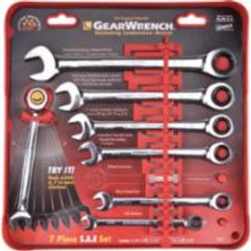 Wrenches - Combination Ratcheting Wrench sets