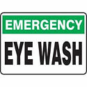 Eye WashSigns | Wholesale Safety Labels