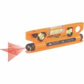 Magnetic Torpedo Laser Levels, Flat Bottom