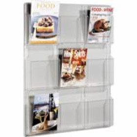 Clear Literature Displays - 3 Styles