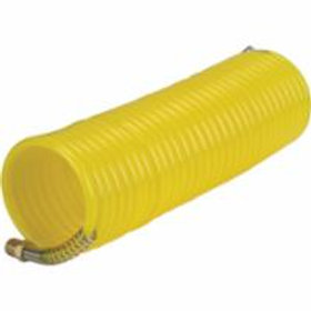 Air Tools - Air Hoses Nylon Coil c/w Fitting