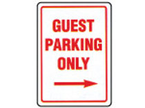 Parking Signs - Guest Parking