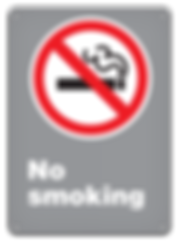 CSA No Smoking Signs | Wholesale Safety Labels