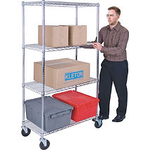 Kleton Wire Shelf Carts | Wholesale Safety Labels