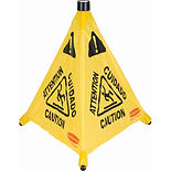 Rubbermaid Pop-Up Safety Cones Upon