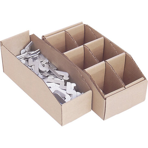 Corrugated Parts Bins & Dividers -10 Styles