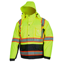 Safety Winter Jacket and Bib Pants | Wholesale Safety Labels