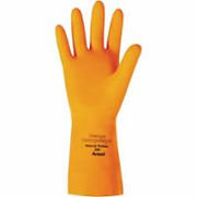 Ansell Orange Heavyweight Series Gloves | Wholesale Safety Labels