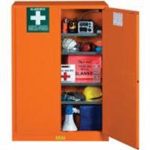 Justrite Emergency Preparedness Storage Cabinets | Wholesale Safety Labels
