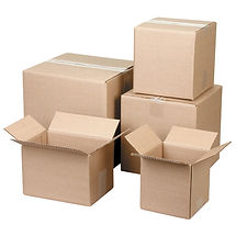 Corrugated Boxes 125 - 200 lb. test