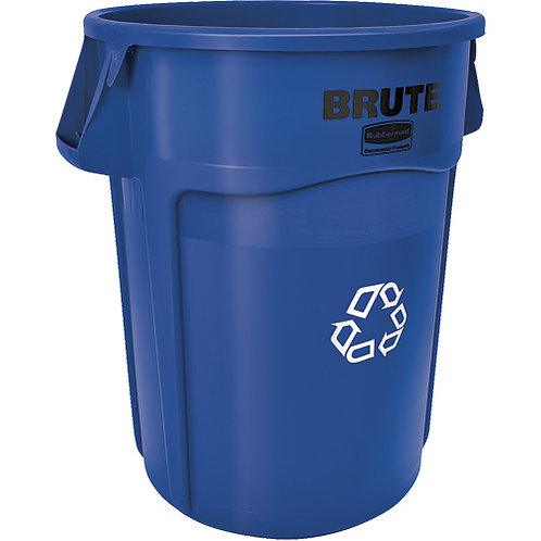 Rubbermaid BRUTE®Round Recycling Containers
