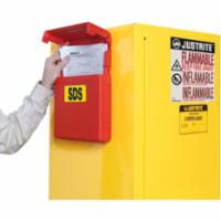 Justrite SDS Document Storage Boxes | Wholesale Safety Labels