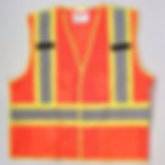 Custom Printed Safety Vests 5-Point Tear-Away | Wholesale Safety Labels