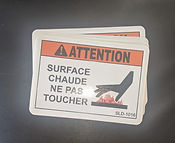 Custom Safety Labels   Wholesale Safety Labels