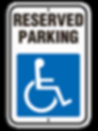 Handicap - No Parking Signs | Wholesale Safety Labels