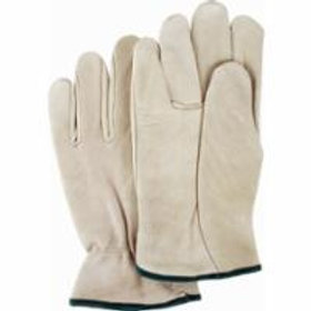 Leather Gloves - Grain Cowhide Drivers Gloves