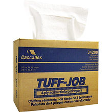 Tuff-Job® Scrim Reinforced Wipers  | Wholesale Safety Labels