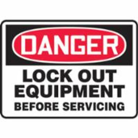 Danger Lock Out Signs