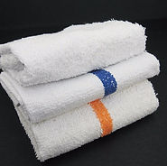 New White Terry Towels | Wholesale Safety Labels