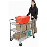 Utility Carts - Standard Duty with 600 Lbs. Capacity | Wholesale Safety Labels