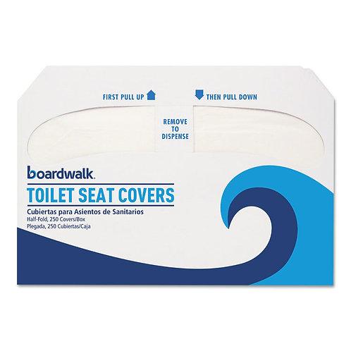Boardwalk® Premium Half-Fold Toilet Seat Covers